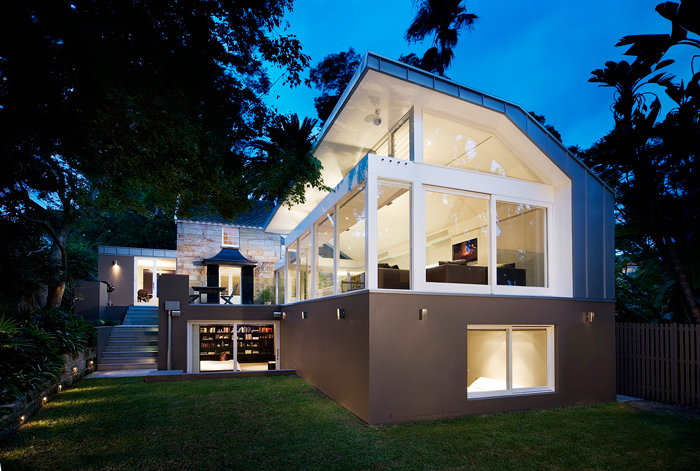 Hunters hill house