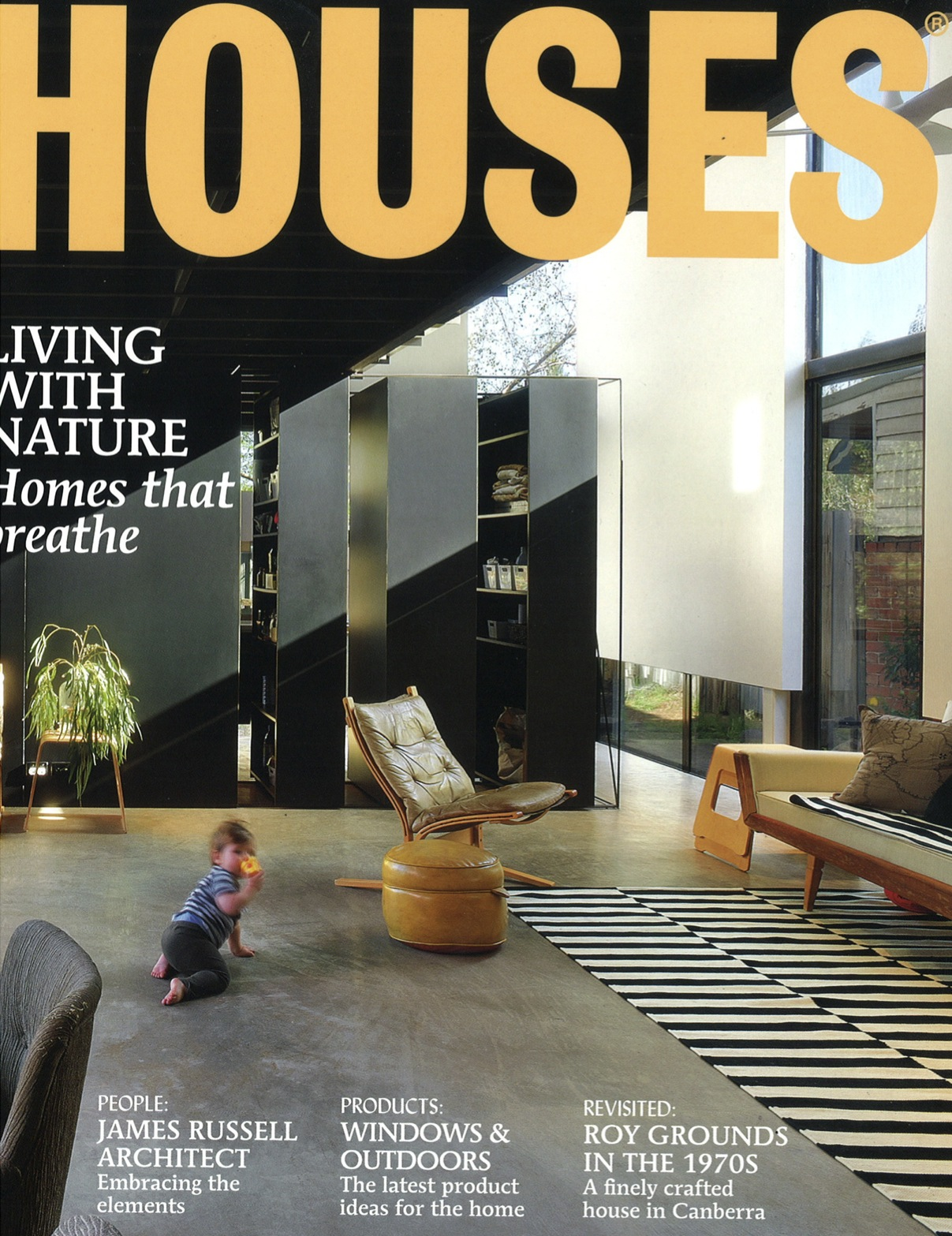 Balmain house featured in houses magazine for Home building magazines