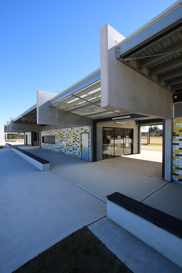 Chifley Reserve Amenities Building